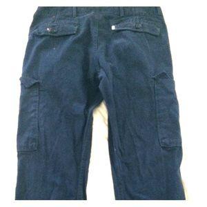 Dark Blue Cargo Levi Pants